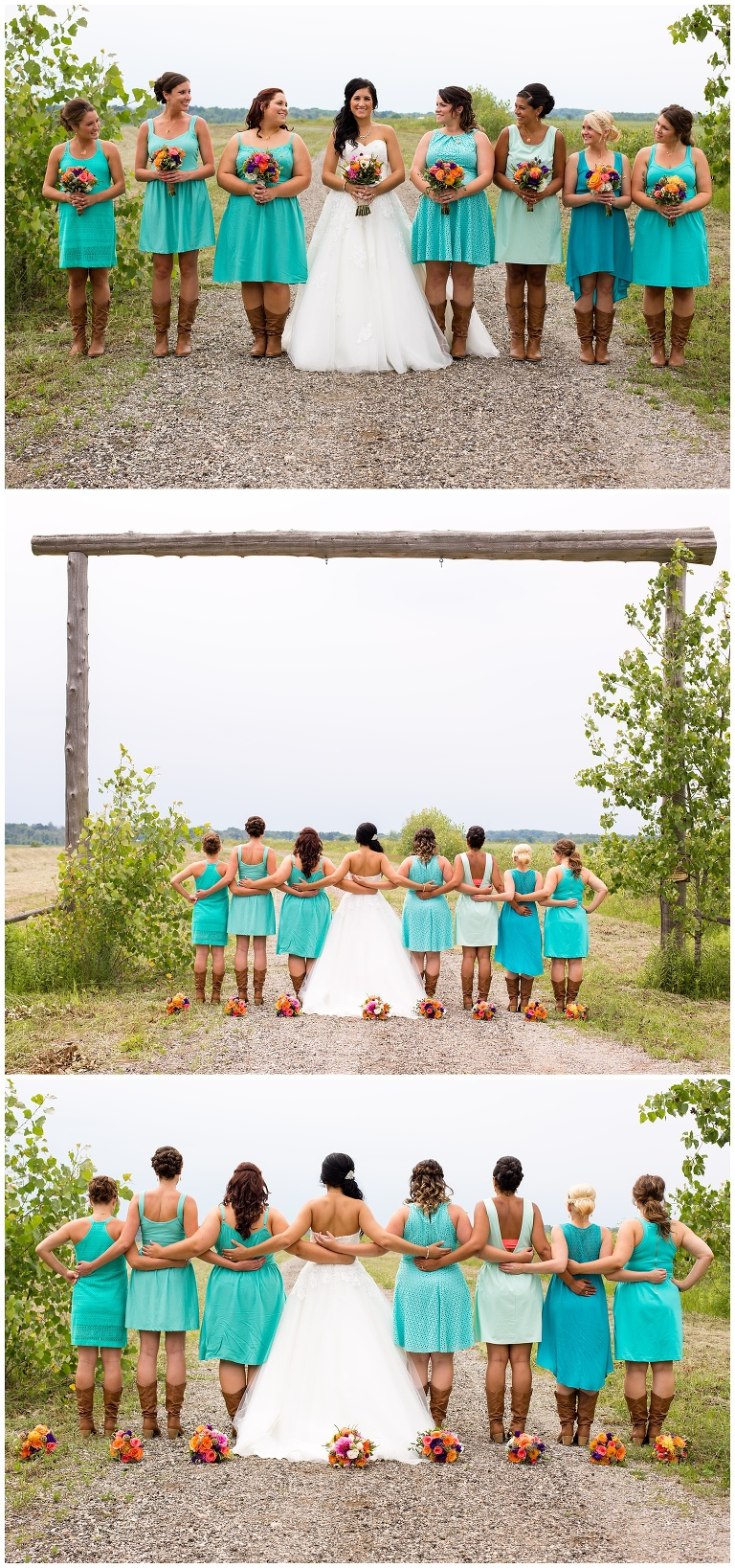 Mr. & Mrs. Graebner Part 2. | Coral, Turquoise, and Cowboy Boots ...