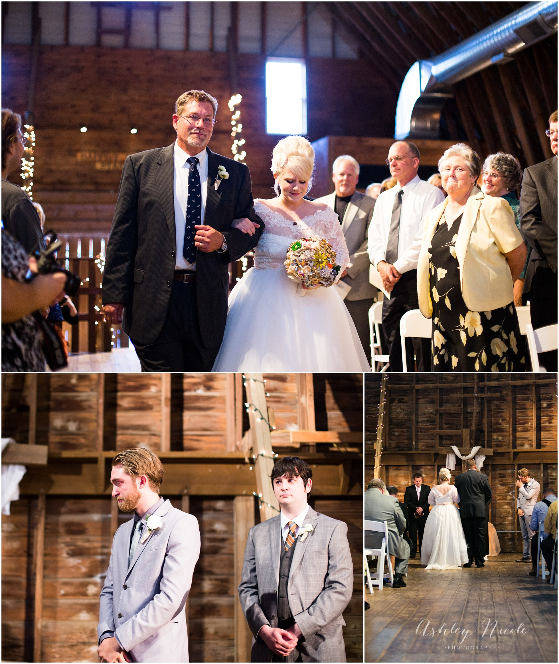 Mr And Mrs Hubbard A Vintage Small Town Barn Wedding